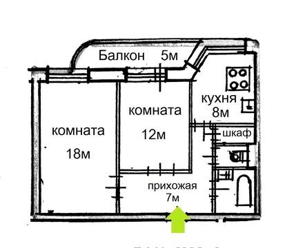 Отличная 2-к.кв. в кирпичном доме в 10мин от метро Политехническая - Фото 2