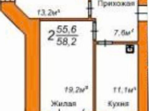 Продажа двухкомнатной квартиры в новостройке на улице Пушкина, 108 в ., Купить квартиру в Благовещенске по недорогой цене, ID объекта - 320294230 - Фото 1