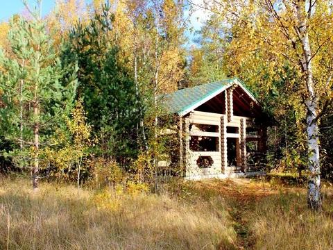 Охотничий домик с уч 27 сот. на берегу Ладожского озера - Фото 1