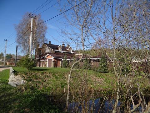 Дом с участком в г. Кимры рядом с лесом и гаражом для катера на воде - Фото 4