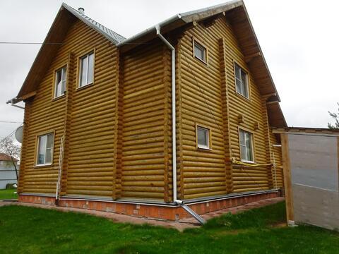2-х этажный дом из оцилиндрованного бревна в Серпуховском районе, с.Ли - Фото 3