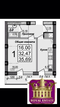 Продается квартира Респ Крым, г Симферополь, ул Балаклавская, д 73б - Фото 1