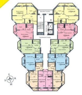 Продажа 1-комнатной квартиры, 32.87 м2, Березниковский переулок, д. 38 - Фото 2