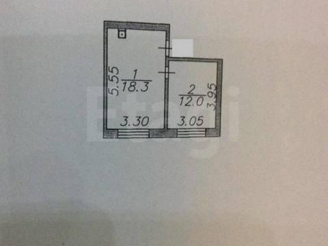 Продажа комнаты в двухкомнатной квартире на улице Татищева, 11б в ., Купить комнату в квартире Астрахани недорого, ID объекта - 700753617 - Фото 1