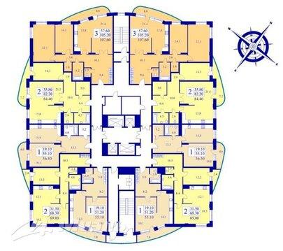 Продажа квартиры, Реутов, 6а - Фото 1
