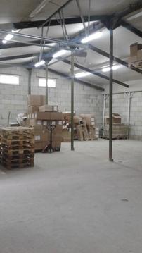 Сдаётся отапливаемое складское помещение 200 м2 - Фото 1