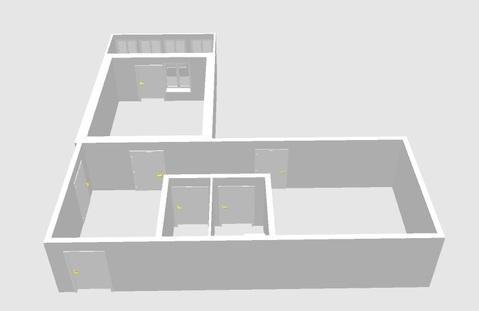 Комната в 3-комнатной квартире 35 мкр.9д - Фото 4