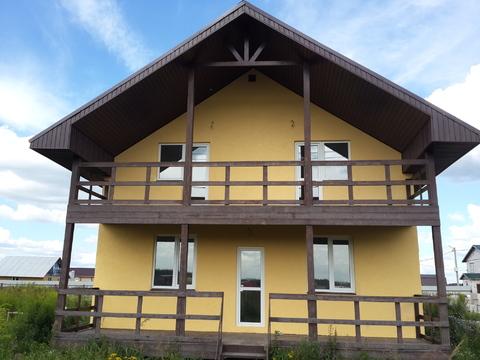 Продается новый блочный дом 174м2 на участке 10,4сот, село Малышево - Фото 3