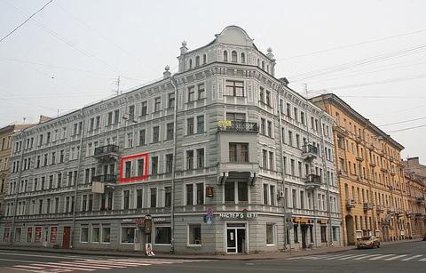 Продажа - Комната 20м.в 5к.кв.на 3/5эт.-спб, Центр, 7-я Советская ул. - Фото 2