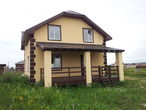 Продается новый блочный дом 160м2 на 10 сот. д.Малышево, Раменский р-н - Фото 1