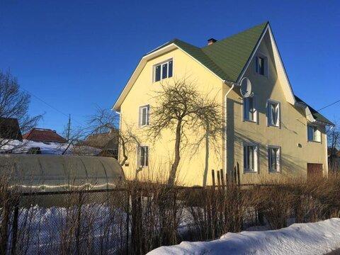 Продаётся зимний, кирпичный 2х-этажный дом 216 кв. м. в городе Гатчина - Фото 1