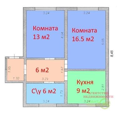 Жилой и благоустроенный дом 55 м2 в поселке Майский - Фото 2