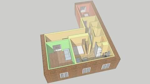 Продам 3-комн. студию свободной планировки 75 м2, Купить квартиру в Нижнем Новгороде по недорогой цене, ID объекта - 317799946 - Фото 1