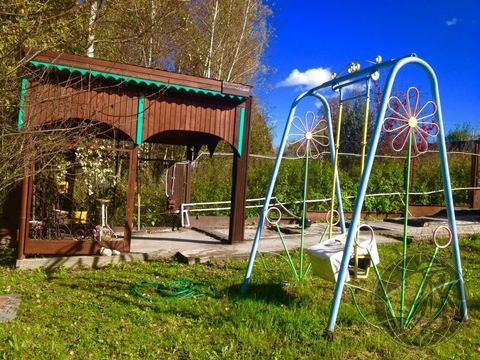Обустроенный участок в деревне Угрюмово, г.о. Домодедово, Чеховский р- - Фото 4