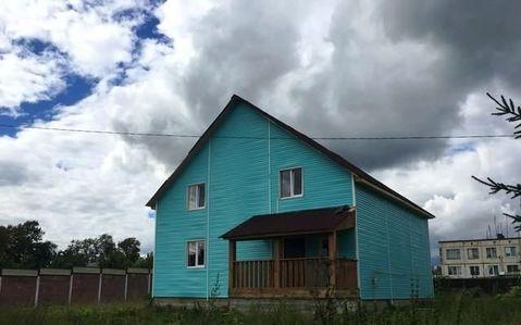 Купить дом из бруса в Кировском районе Ленинградской области пгт Мга - Фото 1