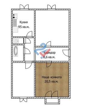 Комната в 3 ком квартире по ул. Проспект Октября 172 - Фото 1