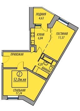 Продажа квартиры, Балашиха, Балашиха г. о, Ул. Авиарембаза - Фото 1