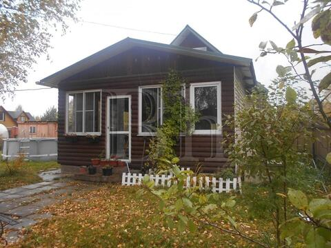 Продается дом 110 м2, по Егорьевскому шоссе, 25 км от МКАД, в деревне . - Фото 1