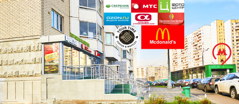 Стрит-ритейл 65 м2 у метро - Фото 1