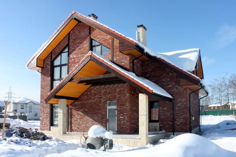 Кирпичный дом под ключ по индивидуальному проекту в поселке Гайд Парк - Фото 4