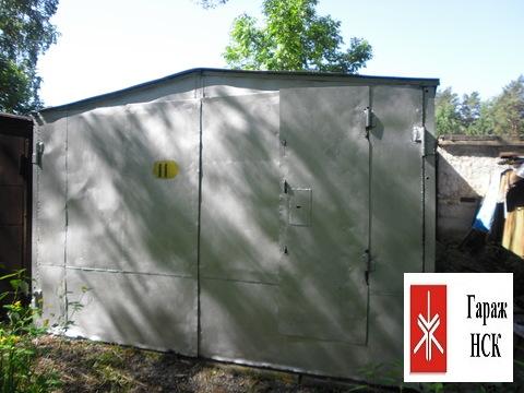 Продам металлический гараж, ГСК Жемчужный № 11, Верхняя зона - Фото 1