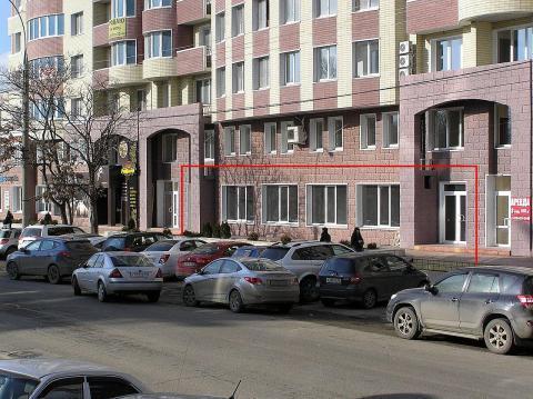 Новое торгово-офисное помещение 284 кв.м. - Фото 2