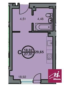 Продается 1ком кв ул Новоремесленная 13, Купить квартиру в Волгограде по недорогой цене, ID объекта - 321745435 - Фото 1