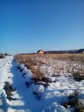 Шарапово д, Чеховский район 68 км от МКАД, участок 25 соток. - Фото 1