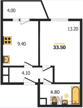 1-ком квартира в Добром - Фото 2
