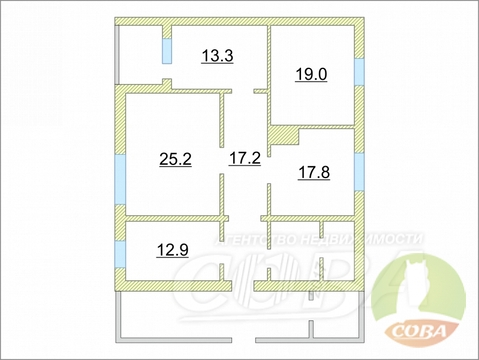 Продажа дома, Туринская Слобода, Слободо-Туринский район - Фото 1