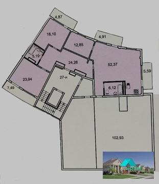Продам 4 комнатные апартаменты с террасой в МФК Лахта парк в п.Лахта - Фото 2