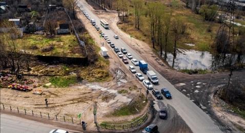 Продаётся земельный участок первая линия с трассы м5 и ул Ушакова