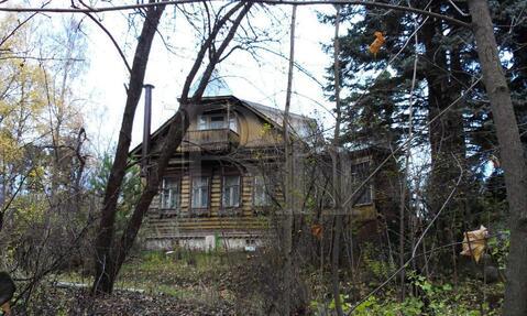 Дом из бревна 90 м2, на участке 9 соток, Ярославское шоссе, 14 км от . - Фото 1
