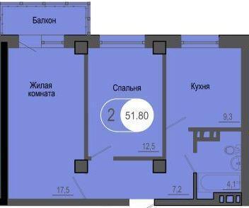 Продажа квартиры, Красноярск, Улица Петра Подзолкова - Фото 4