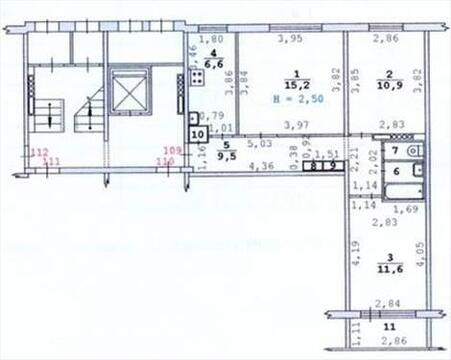 Продам 3-х комнатную квартиру на Белореченской, 29 - Фото 2