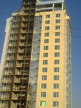 2-к. кв, парковая зона, витражное остекление, под ключ, Костюкова 12а - Фото 4