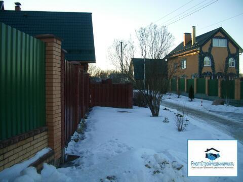 Дом в городе Руза на первой береговой линии Москва реки - Фото 1