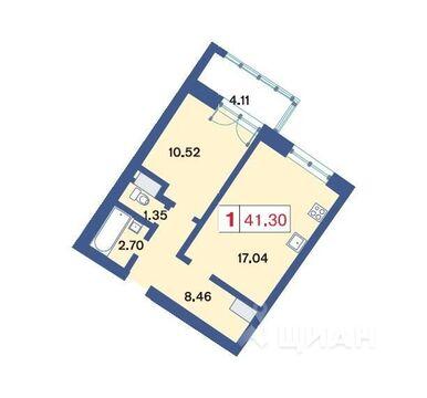 5 640 000 Руб., Продажа квартиры, Приморский пр-кт., Продажа квартир в Санкт-Петербурге, ID объекта - 331755813 - Фото 1
