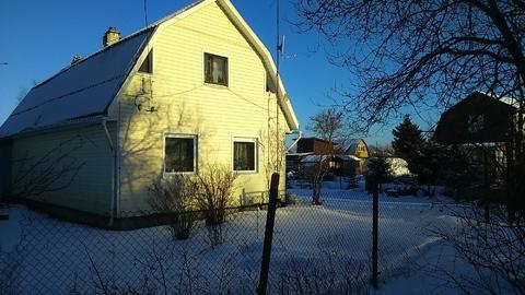 Дом зимний у леса, круглогодичное проживание, Гатчинский район. - Фото 1