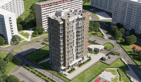 1-к. кварт. 48,9 кв.м. в современном доме бизнес-класса ЗАО г. Москвы - Фото 1