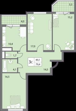 Продается трехкомнатная квартира на ул. 65 Лет Победы - Фото 4