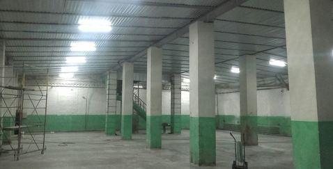 Продажа, тёплый склад 2500кв.м, Подольск - Фото 2