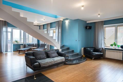 Пентхаус с дизайнерским ремонтом 420 кв.м. г. Химки - Фото 5