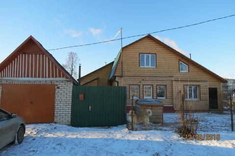 Дом с Газом, Гараж, Прописка, г. Струнино - Фото 1