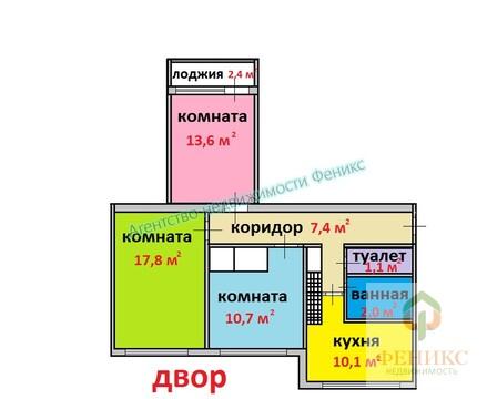 Трехкомнатная квартира, Красносельский район, ул.Рихарда Зорге, дом 12 - Фото 2