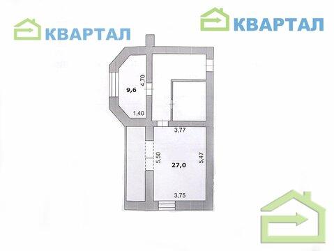 Однокомнатная квартира 55 кв.м в центральном районе - Фото 2