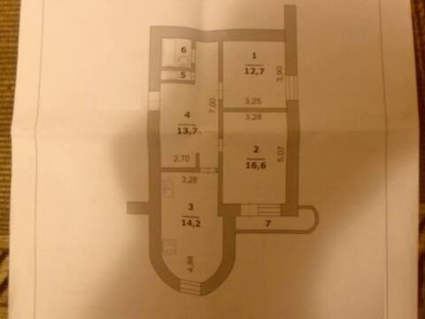 3 370 000 Руб., Продажа двухкомнатной квартиры на проспекте Ватутина, 5 в Белгороде, Купить квартиру в Белгороде по недорогой цене, ID объекта - 319752038 - Фото 1