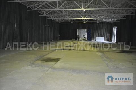 Аренда помещения пл. 1100 м2 под склад, м. Авиамоторная в складском . - Фото 3