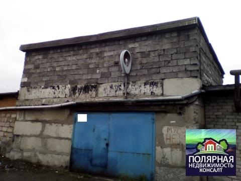 Продается жб гараж в центре города Мурманск