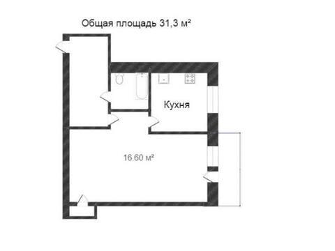Продажа однокомнатной квартиры на Социалистической улице, 9 в Калуге, Купить квартиру в Калуге по недорогой цене, ID объекта - 319812785 - Фото 1